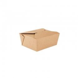 Caja kraft para comida...