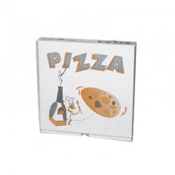 Caja para pizza de 33 cm