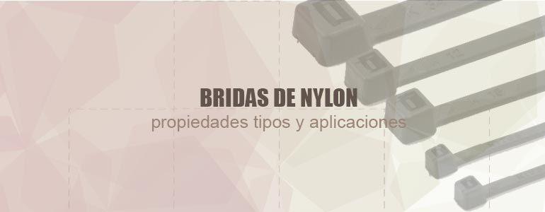 Bridas de nylon: composición, tipos y aplicaciones