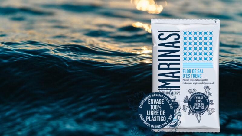 Marinas crea la primera bolsa de patatas fritas libre de plástico y biodegradable