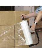 film estirable y retráctil automático y manual para envases y embalaje